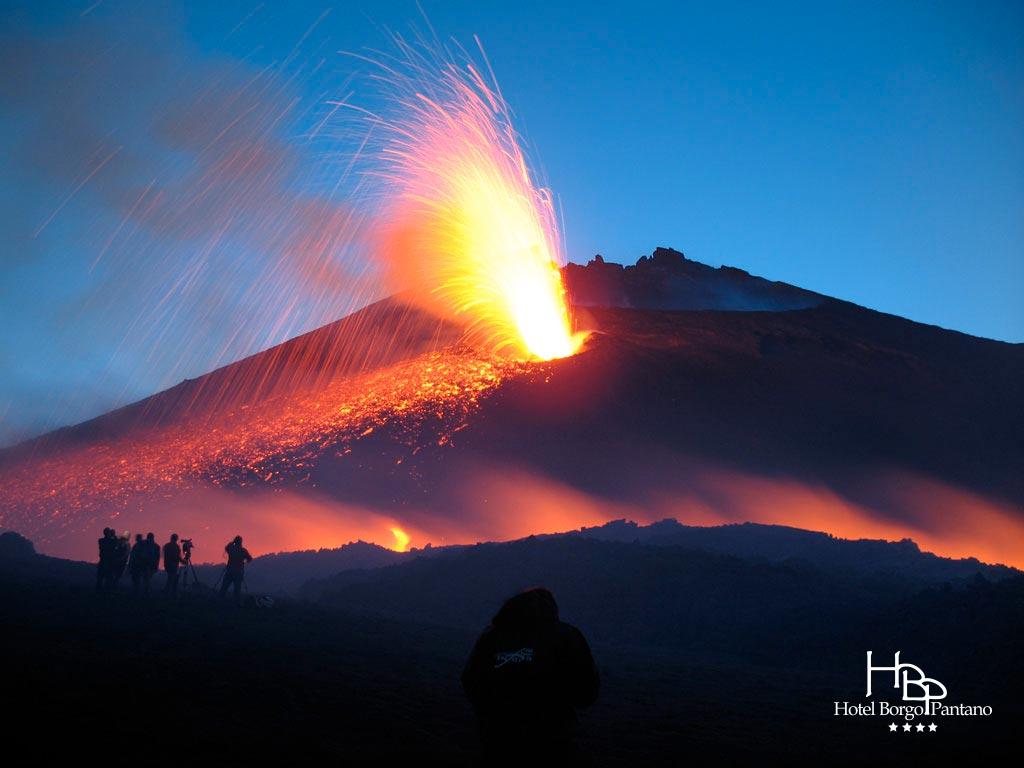 Etna vulcano Sicilia