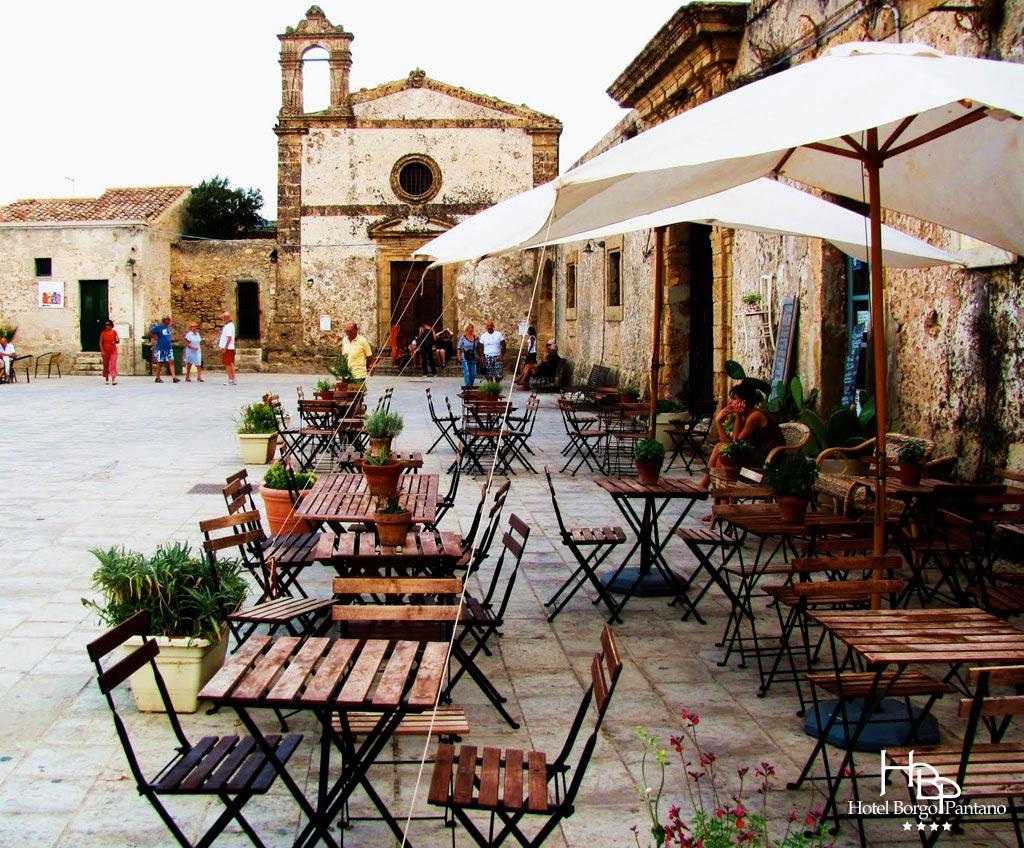 Marzamemi - piazza