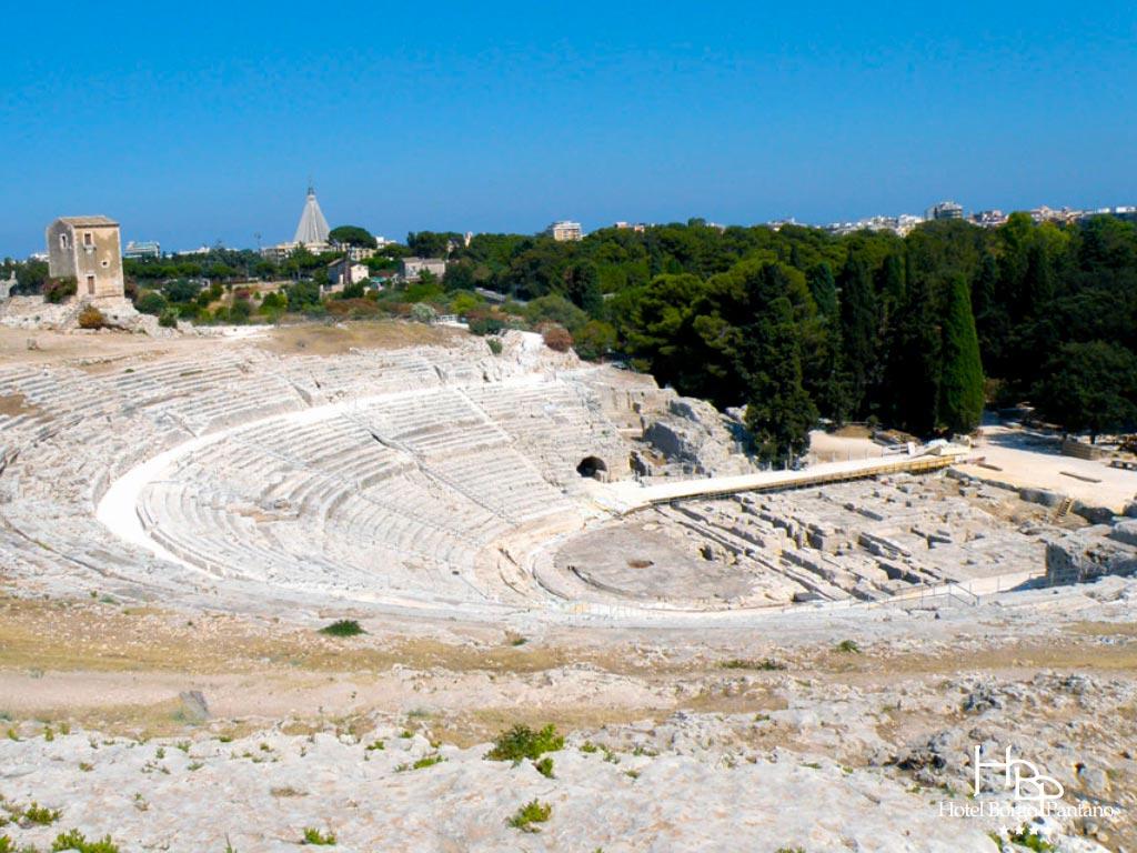 Siracusa anfiteatro greco e Festa di primavera