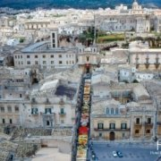 Noto - Flower Festival view from above
