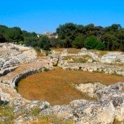 Syracuse - amphithéâtre romain