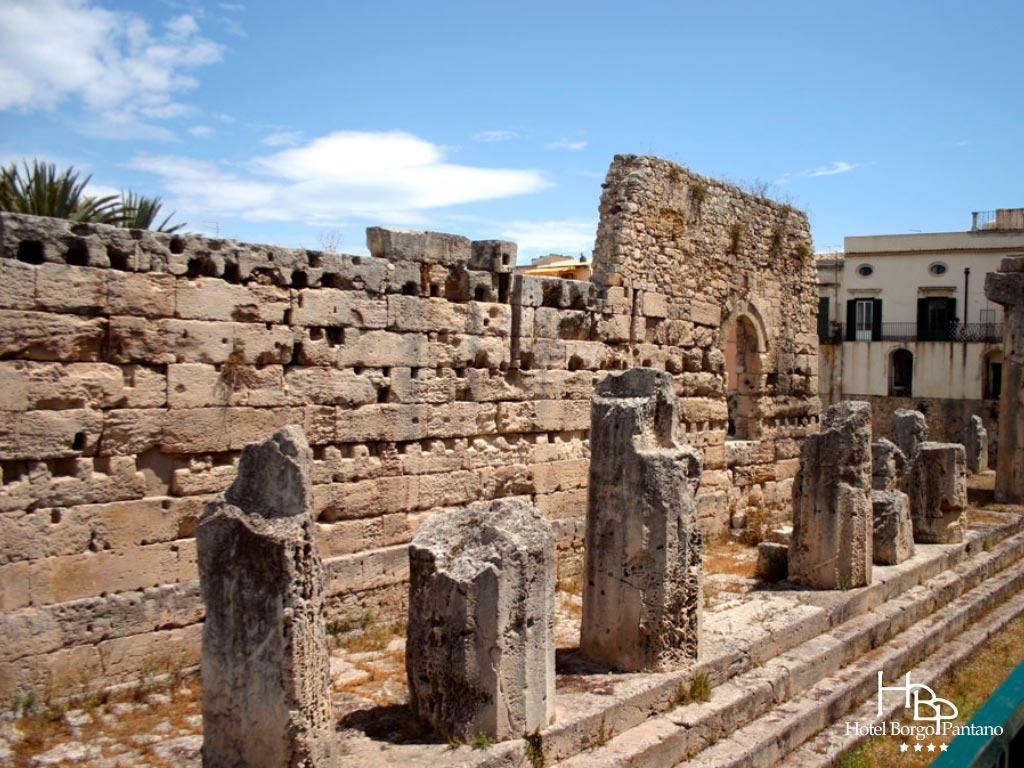 Siracusa tempio greco di Apollo