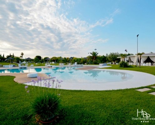 Great swimingpool Hotel Borgo Pantano