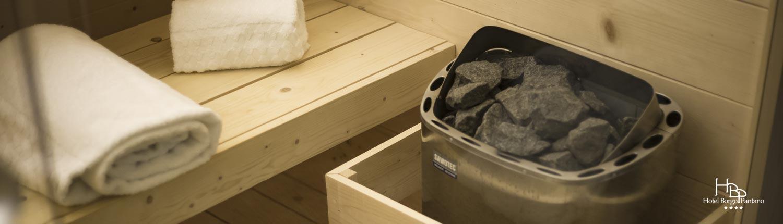 sauna hotel borgo pantano
